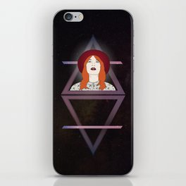 What kind of girl sings like this? iPhone Skin