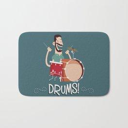 Drums! Bath Mat
