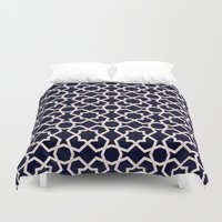 morocco Duvet Covers featuring Morocco by Patterns and Textures