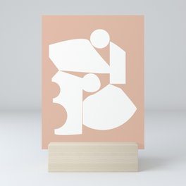 Shape study #16 - Inside Out Collection Mini Art Print