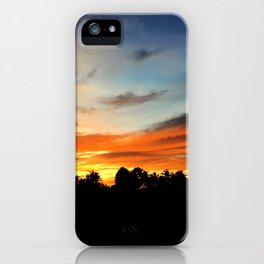 Night's Reflection iPhone Case