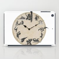 final fantasy iPad Cases featuring FINAL FANTASY CLOCK by DrakenStuff+