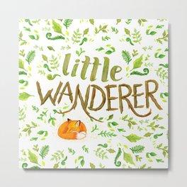 Little Wanderer Metal Print