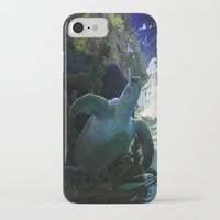 sea turtle iPhone & iPod Cases featuring Turtle by Rose&BumbleBee