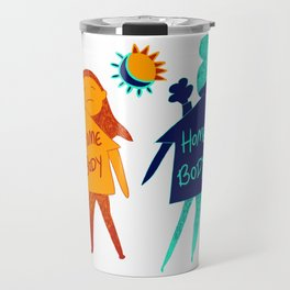 Homebody Homebody - Introvert Day and Night Travel Mug