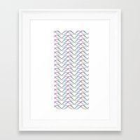 dna Framed Art Prints featuring DNA by FACTORIE