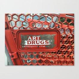 Art Drugs Canvas Print