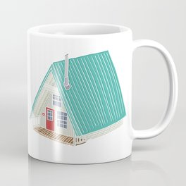 Little A Frame Cabin Coffee Mug