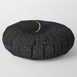 Crescent Moon Floor Pillow