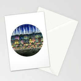 Crowded Haunts Stationery Cards