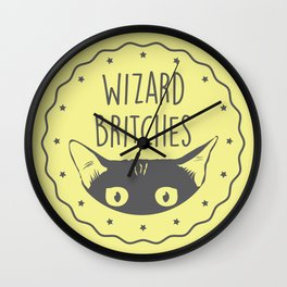 WIZARD BRITCHES Wall Clock