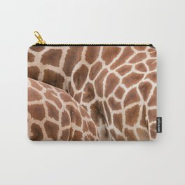 Abstract giraffe picture Carry-All Pouch