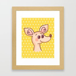 Sniff Framed Art Print