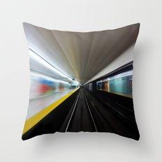 Speed No 2 Throw Pillow