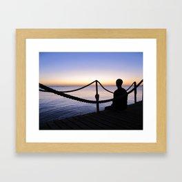 Red Sea Sunrise Framed Art Print