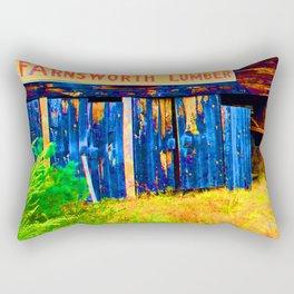 Farnsworth Lumber Yard Rectangular Pillow
