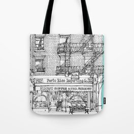 PORTO RICO IMPORT CO, NYC Tote Bag