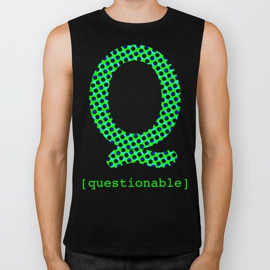 #Q [questionable] Biker Tank