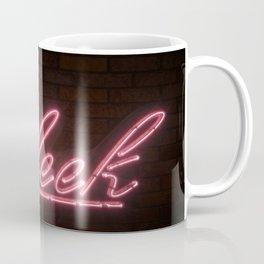 On Fleek Neon Text Coffee Mug