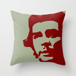 Ernesto Che Guevara the  hero Throw Pillow