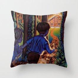 Hansel and Grethel/Hansel and Gretel Throw Pillow