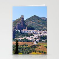 spanish Stationery Cards featuring Spanish Summer by Tamsin Lucie