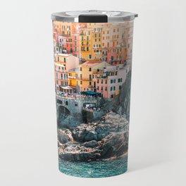 Manarola Town in Cinque Terre Travel Mug