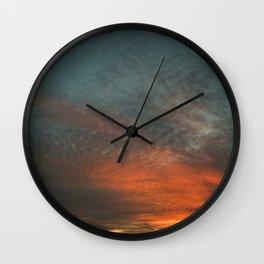 Cirrocumulus Clouds 6 Wall Clock