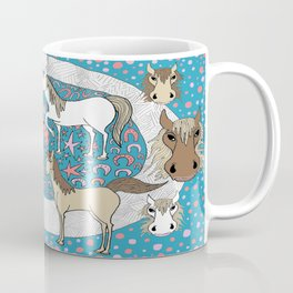 All the Pretty Horses Coffee Mug
