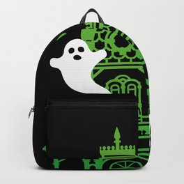 Haunted Victorian House Backpack