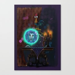 HieHie and Leota by Topher Adam 2017 Canvas Print