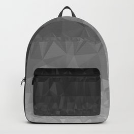 Black and Grey Ombre Backpack