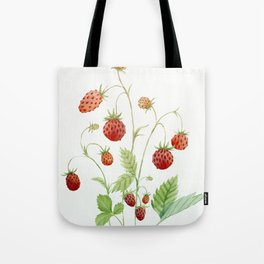 Wild Strawberries Tote Bag