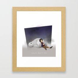 Souls Don't Die Framed Art Print