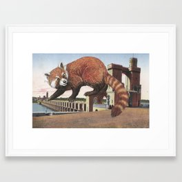 And with that, she sets off on the journey home Framed Art Print