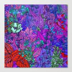 Electric Garden Canvas Print