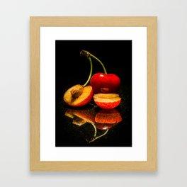 Fruit split Framed Art Print