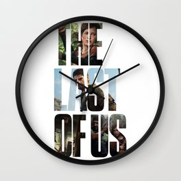 The Last of Us (Tlou Collage) Wall Clock