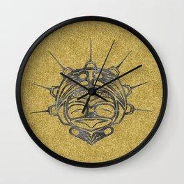 Smoke Frog Sand Wall Clock