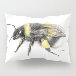 White-tailed bumblebee Pillow Sham