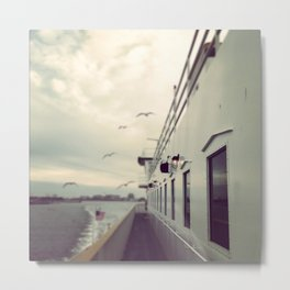 The Ferry  Metal Print