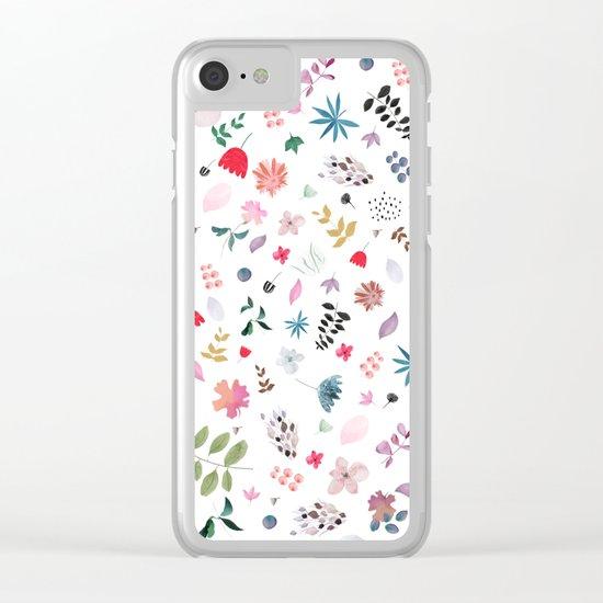 bela Clear iPhone Case