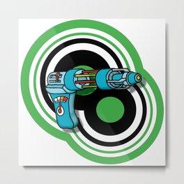 Raygun Double Target Metal Print