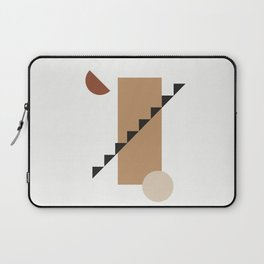 BALCONE ALLA LUNU - Moon at the balcony - Modern abstract art illustration Laptop Sleeve