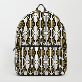 We Hold the Key 2- Gold the Digital Maori collection Backpack