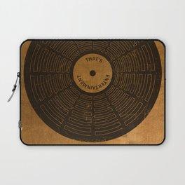 Sam the Record Man Vintage Laptop Sleeve