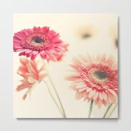Sweet Side  (retro flower photography) Metal Print
