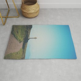 It's about the journey Celtic Cross photograph Rug