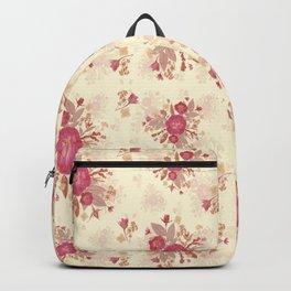 Roses Pink n Cream Backpack