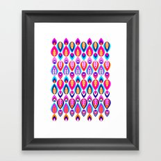 Pierrot II/Happy Memoir Pattern Framed Art Print